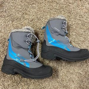 Girls Columbia Snow Boots -Size 3